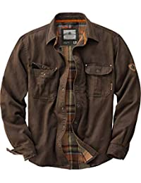 Mens Journeyman Flannel Lined Rugged Shirt Jacket