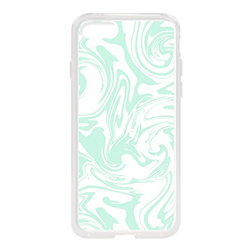 iPhone8/7 Case, Hybrid CASE for iPhone8/7 (Sherbet Mint Marble)
