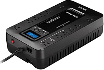 CyberPower EC850LCD 850VA/510-Watts 12-Outlets UPS