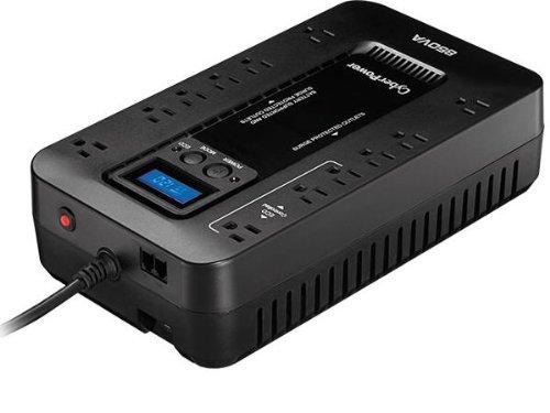 cyberpower-ec850lcd-ecologic-850va-510-watts-energy-efficient-desktop-lcd-ups