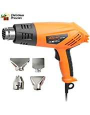 Heat Gun,Rdxone 2000W Hot Air Gun with Dual High Low (350-550℃) Adjustable Temperature for Soldering Pipes,Stripping Paint,Shrinking PVC