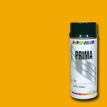 bombe de peinture prima dupli colors 1003 jaune signal - Dupli Color Bombe Peinture