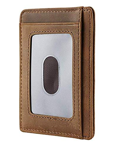 Engraved Leather Front Pocket Wallet (A - Son, dad will always love you) by DOPTIKA (Image #3)