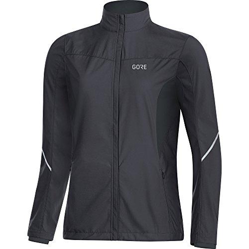 Gore Women's R3 Wmn Partial Gws Jacket,  terra grey/black,  XS by GORE WEAR (Image #1)