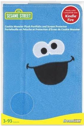 DREAMGEAR, LLC. ISOUND3471 Cookie Monster Plush Portfolio Case