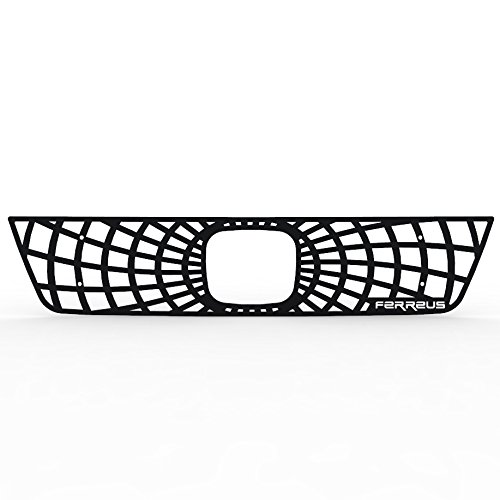 Ferreus Industries Grille Insert Guard Spiderweb Black Powdercoat fits: 2003-2006 Honda Element TRK-140-07-Black-a