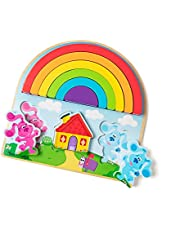 Melissa & Doug Blue's Clues & You! Wooden Rainbow Stacking Puzzle (9 Pieces)