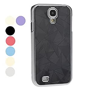 Triangle Pattern Hard Case for Samsung Galaxy S4 I9500 (Assorted Colors) --- COLOR:Green