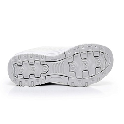 Running Zapatillas Material JRenok Sintético de Mujer Blanco de Sx6pq18