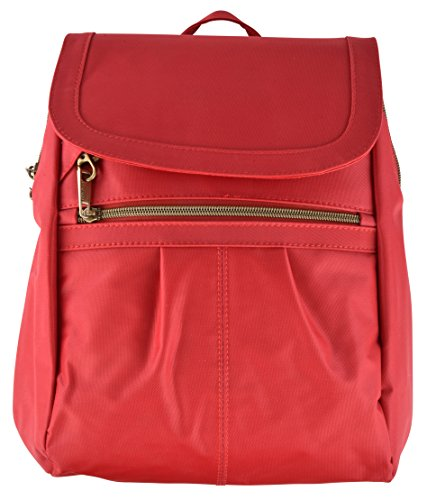 Travelon Anti-Theft Signature Slim Backpack Poppy