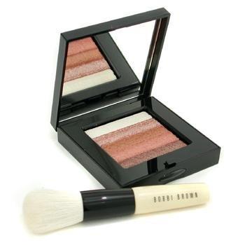 Bobbi Brown Bronze Shimmer Brick Set Bronze Shimmer Brick Compact + Face Blender Brush (Pack of ()