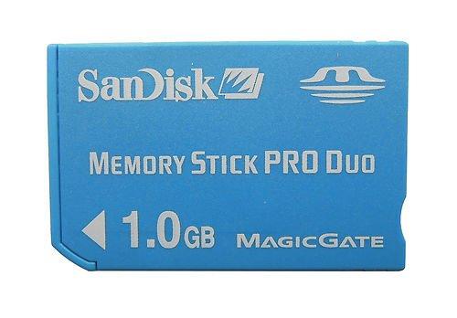 1gb Sandisk Memory Stick PRO Duo Sdmspd-1024 Genuine W/ca...