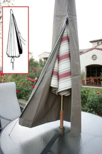 Sawan Shop Patio Umbrella Cover fit 6ft to 11ft umbrellas.W/Zipper. Outdoor Umbrella Cover by Sawan Shop