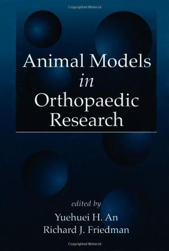 Animal Models in Orthopaedic Research by Brand: CRC Press