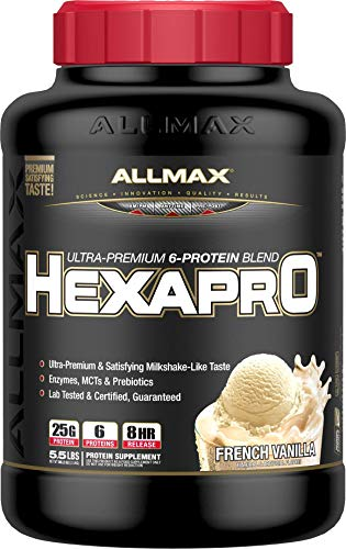 Allmax Nutrition HEXAPRO 5.5 lb French Vanilla For Sale