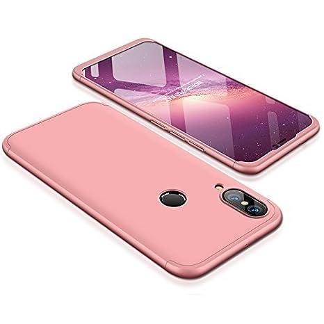 Huawei P20 lite Funda - BCIT Funda Huawei P20 lite 360 Grados Integral Para Ambas Caras + Cristal Templado, Luxury 3 in 1 PC Hard Skin Carcasa Case ...