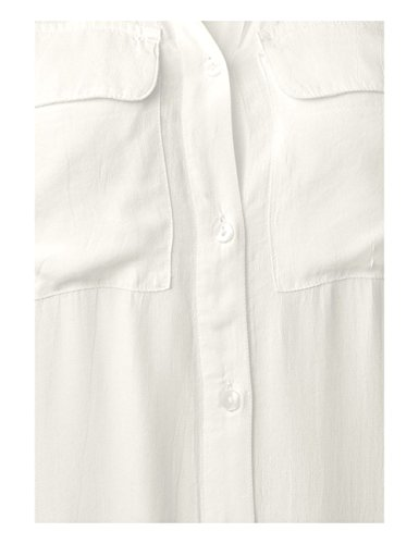 One 10108 Street White Blusa Bianco Donna off Rd0dq