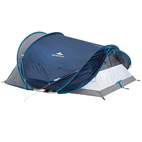 new style 49b8b 81682 QUECHUA 2 Seconds XL Air III Pop Up Tent - 3 Man, Blue ...
