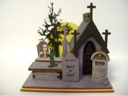 Ginger Cottages - Creepy Cemetery GB104 by Ginger Cottages (Image #6)