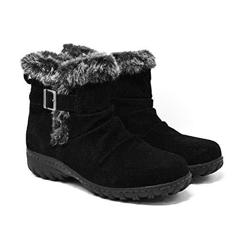 Khombu ladies' All Weather Boot Black 8