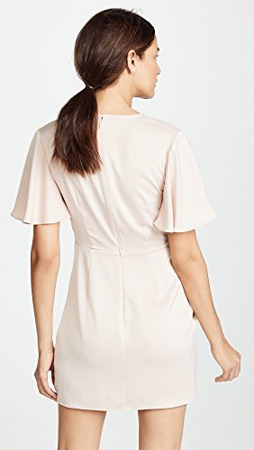 Ruffle Detail Meo Gathered Short Dress Mini Sleeve Less C No s Women Shell Collective 8zw1qTB