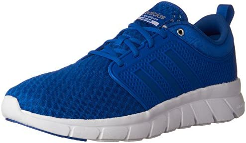 23703584213 adidas Performance Men s Cloudfoam Groove-M Running Shoe Blue satellite matte  Silver 11 D(M) US