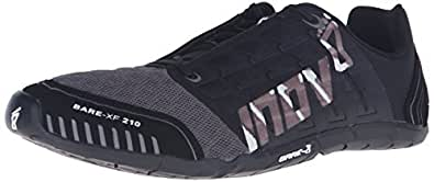 Inov-8 Bare-XF™ 210 Unisex Cross-Training Shoe, Black/Grey/White, 5 M US