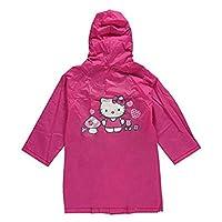 SANRIO Hello Kitty Little Girls Friendly Flowers Raincoat