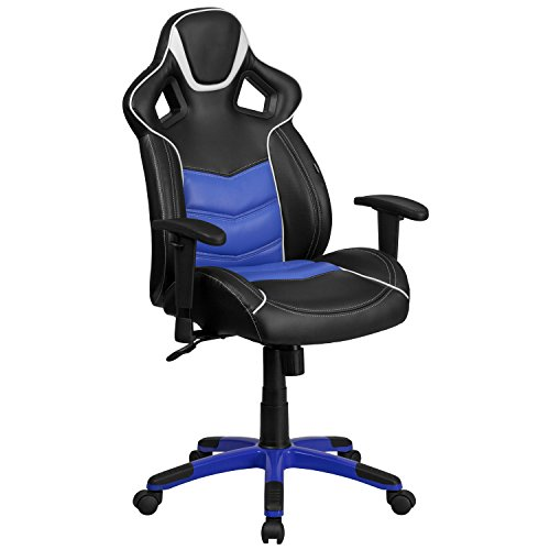 flash-furniture-high-back-monterey-blue-executive-gaming-racing-swivel-chair-with-comfort-coil-seat-