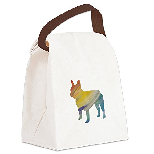- CafePress - French bulldog Canvas Lunch Bag - Canvas Lunch Bag with Strap Handle