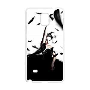 WJHSSB Black Swan Phone Case For Samsung Galaxy note 4 [Pattern-4]