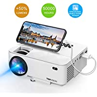 TOPVISION Full HD 1080p 2200-Lumens LED Portable Projector