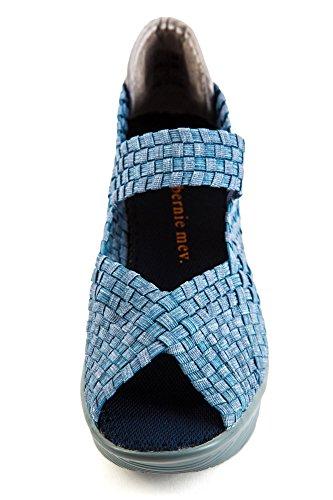 BM2 pour 014 Jeans Bleu Bleu Light Mev Femme Halle Bernie Escarpins 5xqHwSnFW6