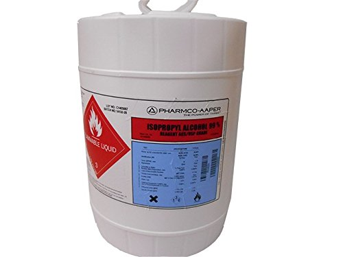99% Isopropyl Alcohol (IPA), USP-Grade, 5 Gallon Pail by CLEANPRO