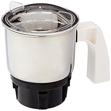 Preethi MGA-501 0.4-Litre Chutney Jar (Steel/Transparent) 5