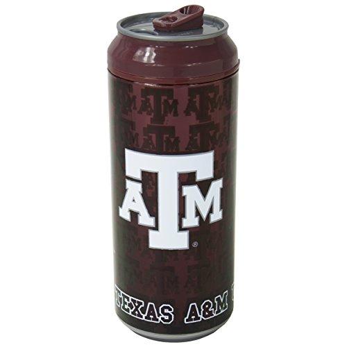 Texas A&m Acrylic (Cool Gear Texas A&M Can, 16 oz, Burgundy)