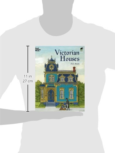 Victorian Houses Dover History Coloring Book A G Smith 9780486415512 Amazon Books