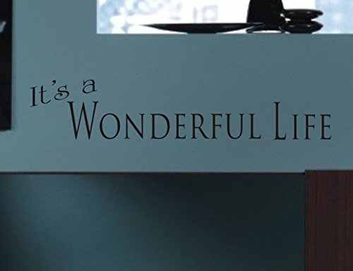 It's a Wonderful Life wall decal