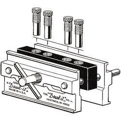 Dowl It 2500 Dowel Self Centering Jig , 2-Inch capacity with 4 tapped (Self Centering Doweling Jig)