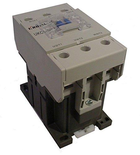 Kripal Yagi UKC1-50 Contactor 50 Amp 30 HP 3 Pole Relay 120V Coil Available New