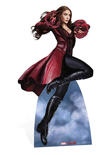 Star Cutouts SC868 Scarlet Witch Marvel Civil War Cardboard Cut Out