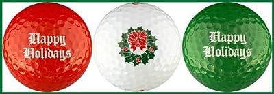 EnjoyLife Inc Happy Holidays Variety Golf Ball Gift Set
