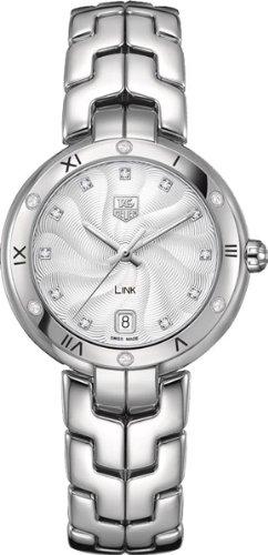 TAG Heuer Women's WAT1312.BA0956 Link Analog Display Swiss Quartz Silver Watch (Tag Heuer Swiss Link)