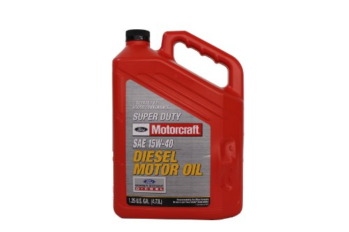 Mack Diesel Engine - Genuine Ford Fluid XO-15W40-5QSD SAE 15W-40 Super Duty Diesel Motor Oil - 5 Quart Jug