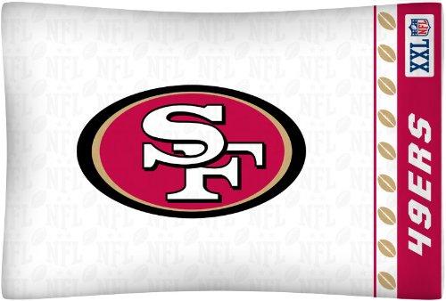 - NFL San Francisco 49ers Micro Fiber Pillow Case Logo