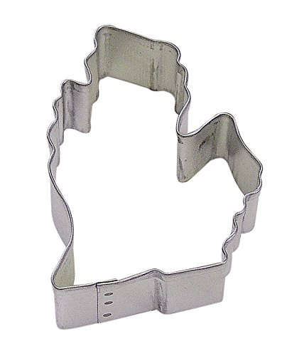 R&M Michigan State Cookie Cutter in Durable, Economical, Tinplated Steel