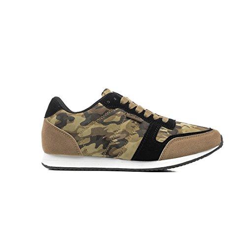 Refresh Zapato Combinado Khaki