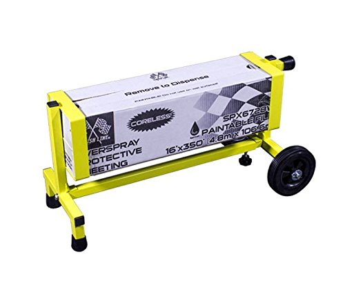 """Angel Guard Nomad Sheeting Dispenser and Portable Solution Your Shop Needs - Fits Boxes 23.5"""" - 40"""" Long by Angel Guard (Image #5)"""