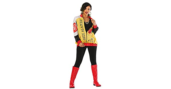Amazon.com: Womens Push It Pop Star Jacket Costume: Clothing
