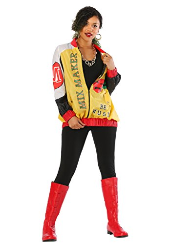 Female Pop Star Halloween Costumes (Women's Push It Pop Star Jacket Costume Small)